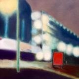 Car Park by Mike Hanny, Painting, Oil on canvas
