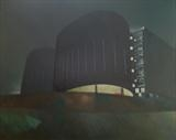 Carpark 3 by Mike Hanny, Painting, Oil on canvas