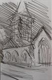 Charles Church by Mike Hanny, Drawing