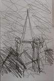 Charles Church. by Mike Hanny, Drawing
