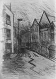 Ebrington St. by Mike Hanny, Drawing