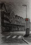 Ebrington St. First light. by Mike Hanny, Drawing