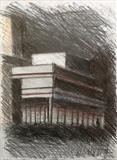Theatre Royal by Mike Hanny, Drawing