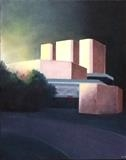Theatre Royal. Daybreak. by Mike Hanny, Painting, Oil on canvas